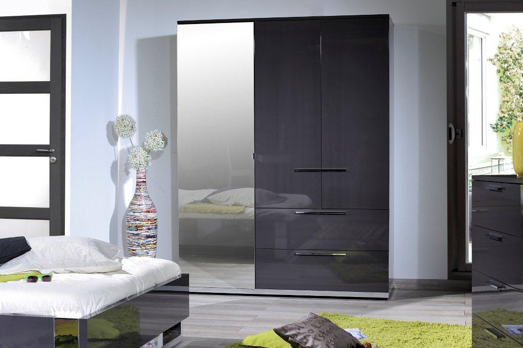 armoire pas cher sunrise 3 portes avec miroire marseille entrepot de la literie. Black Bedroom Furniture Sets. Home Design Ideas