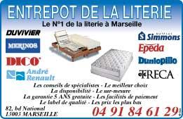 Entrepot de la literie matelas literie lits et clic for Entrepot liquidation meubles et matelas