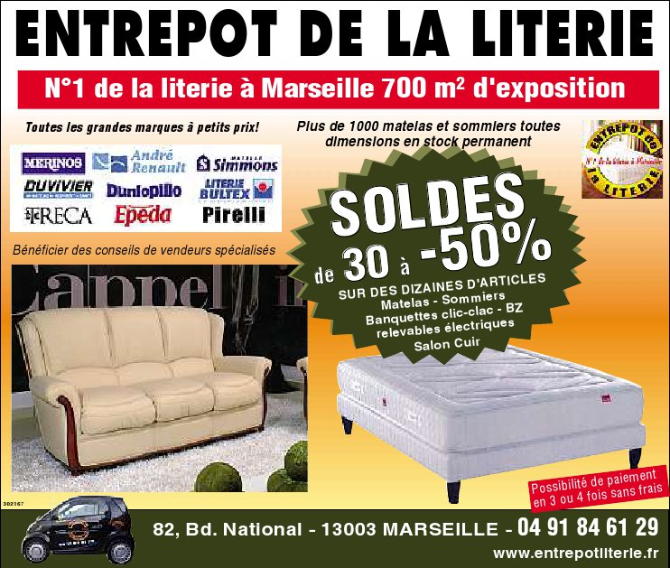 maison de la literie marseille affordable dcoration maison deco rouen saint denis brico. Black Bedroom Furniture Sets. Home Design Ideas